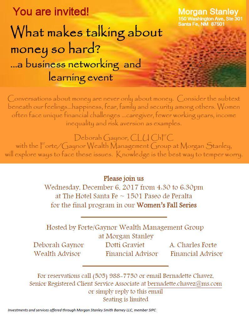 Fortegaynor wealth management group santa fe nm morgan stanley events xflitez Image collections