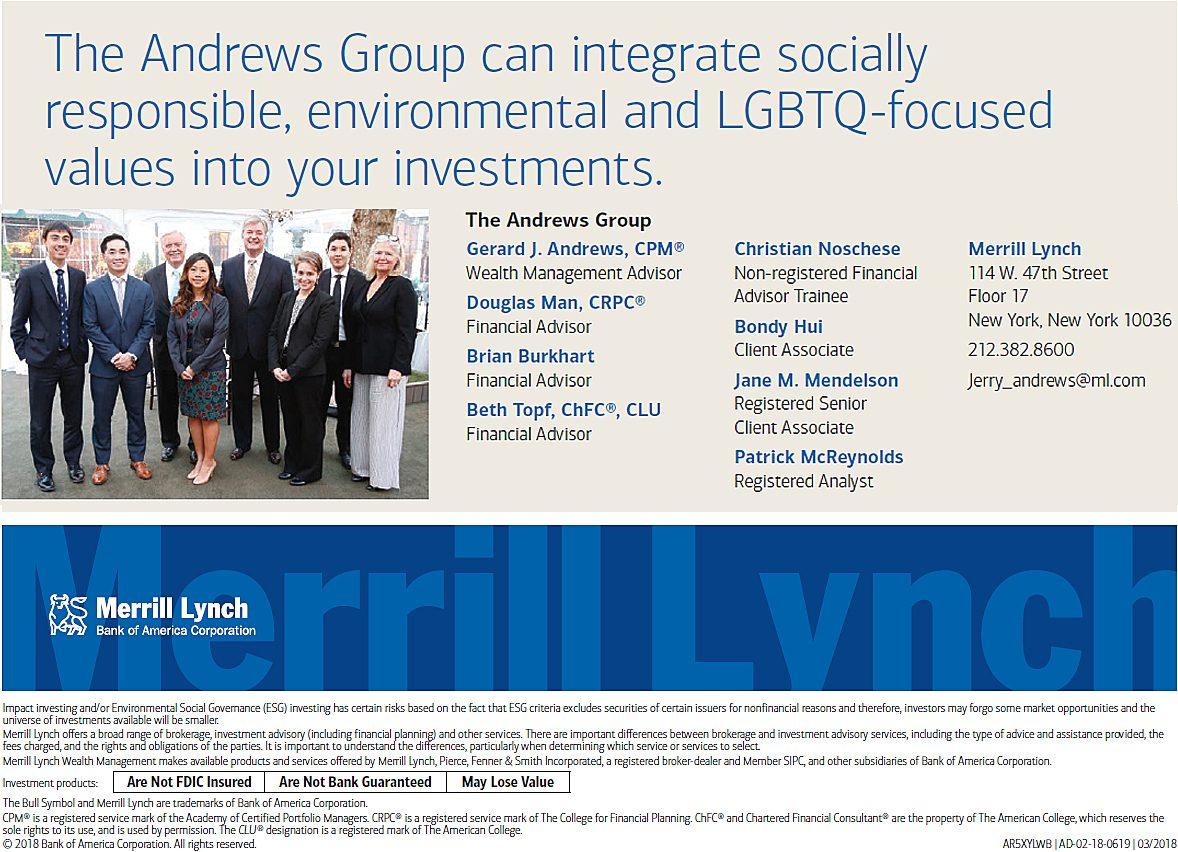 The Andrews Group - NEW YORK,NY | Merrill Lynch